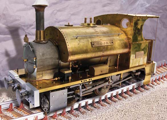 Polly Model Engineering Polly Locomotive Kits Trojan Kit
